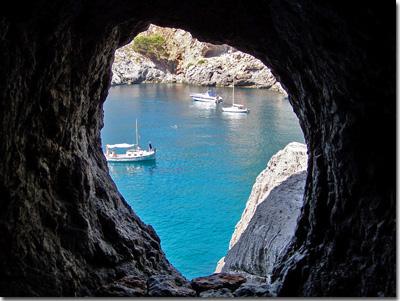 Foto de cueva de Sa Calobra